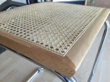 Ricambio della seduta sedia cesca. disponibile telaio faggio naturale o nero con paglia di vienna.